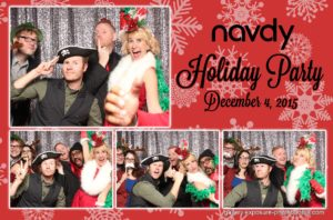 Exposure Photo Booths Holiday Card for Navdy