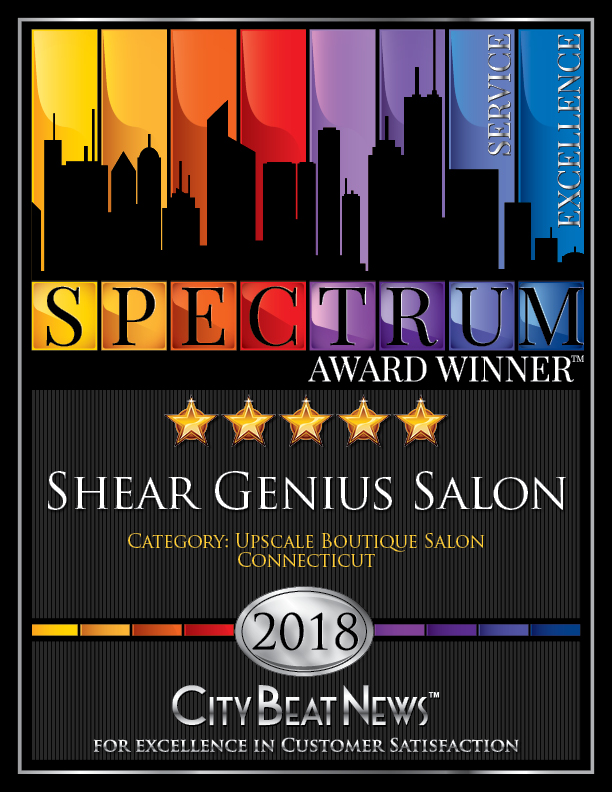 Shear Genius Salon Spectrum Award 2018 Image