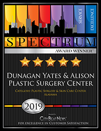 DUNAGAN YATES & ALISON PLASTIC SURGERY CENTER wins 2019 Spectrum Award