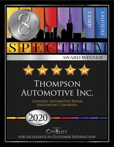 THOMPSON AUTOMOTIVE INC wins 2020 Spectrum Award